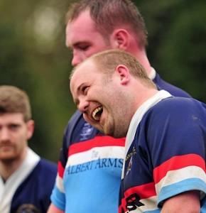 Reeds Weybridge RFC Seniors Share a Joke