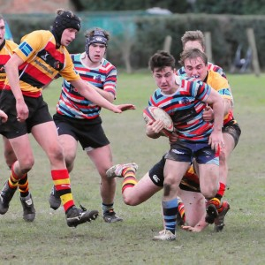 Try scoring break for Reeds Weybridge RFC