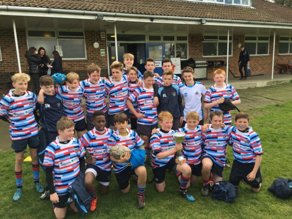 U13 Surrey Shield winners